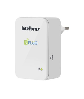 Roteador Repetidor Wireless Intelbras NPlug 150Mbps
